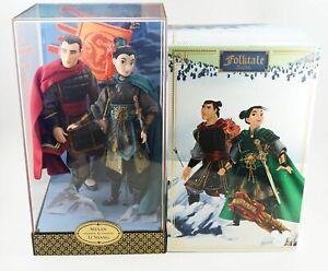 2017-D23-Expo-Disney-Store-Exclusive-Mulan-Li-Shang-Designer-Doll-Set-LE-1023
