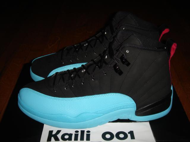 Nike Air Jordan 12 Retro Gamma Blue 130690-027 QS Playoff Bred Flint A