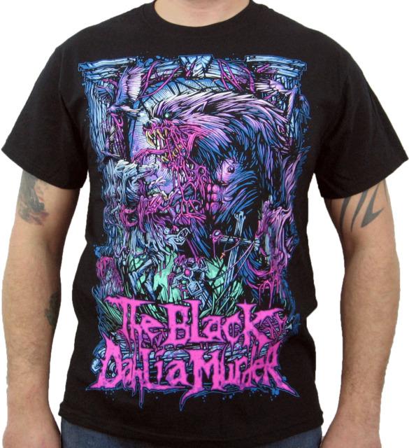 THE BLACK DAHLIA MURDER (Wolfman) Men's T-Shirt