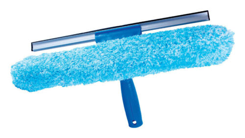 Unger  10 in W Window Squeegee and Scrubber  Micro-fiber