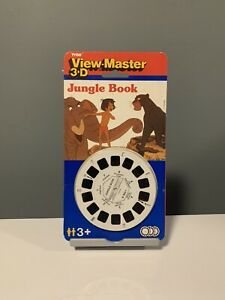 View-Master-3D-JUNGLE-BOOK-Disney-1992-TYCO-New-Sealed