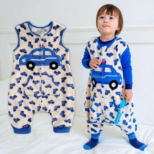 "Vaenait Baby Toddler Kids TOG2 Ultra fine Blanket Sleepsack ""Mf.Blue Taxi"" 1T7T"