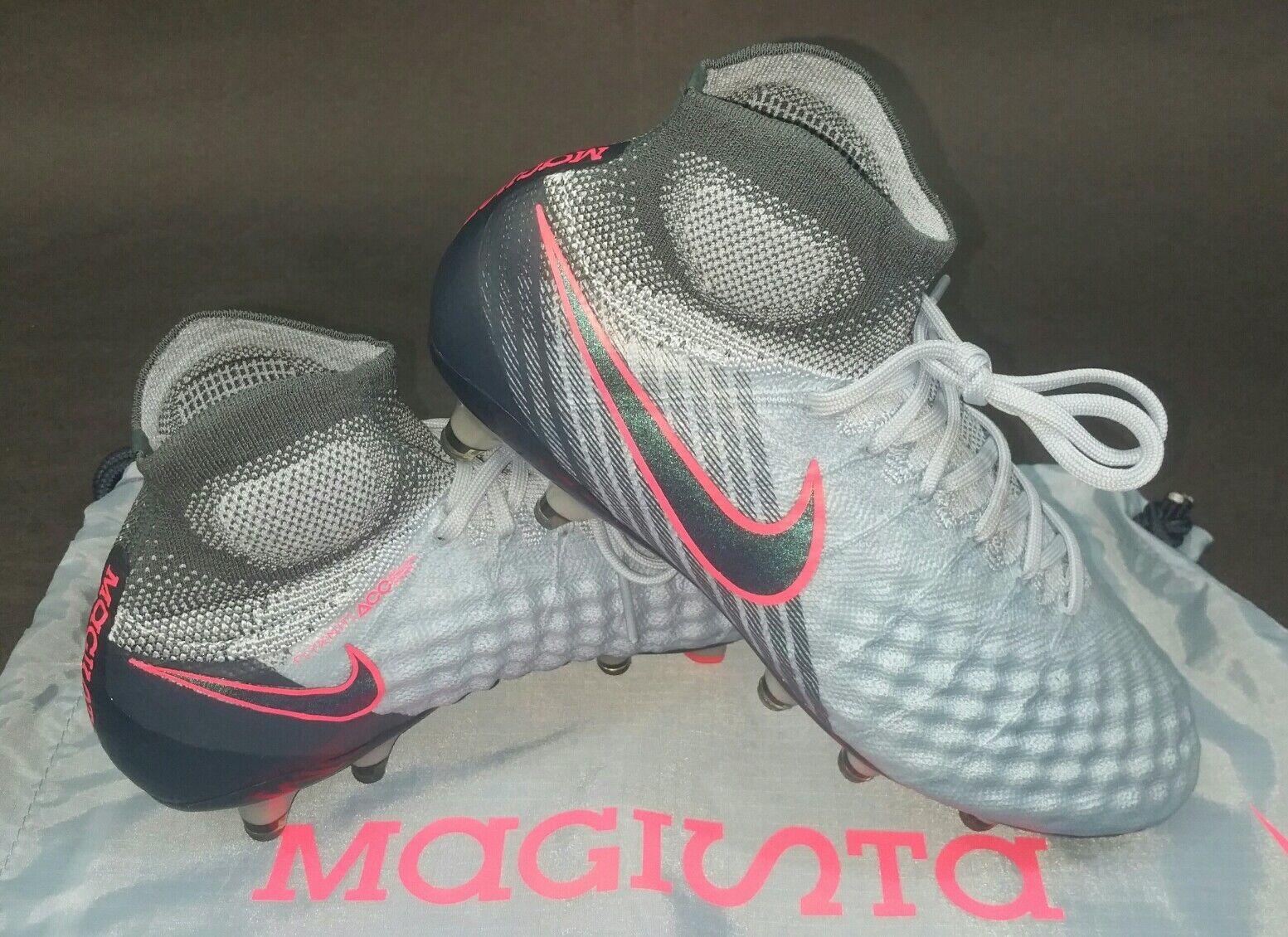 Nike magista obra ii df - fg, lt armeria blu / arsenale della marina, numero 9 (844595-400)