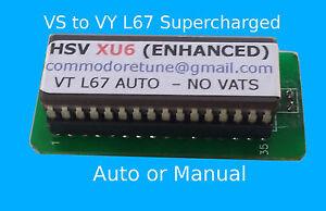VS-VT-VX-amp-VY-L67-Supercharged-V6-034-HSV-XU6-PLUS-ENHANCED-034-AFTERMARKET-Memcal