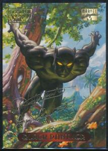 1994-Marvel-Masterpieces-Gold-Signature-Trading-Card-8-Black-Panther