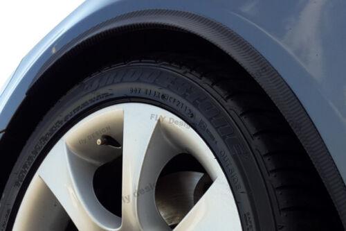 2x CARBON opt RUOTA largamento 71cm per VW LUPO CERCHI TUNING Splitter Flap