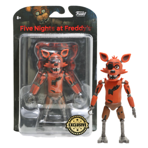 FIVE NIGHTS AT FREDDY/'S FOXY GLOW IN THE DARK EXCLUSIVE ACTION FIGURE