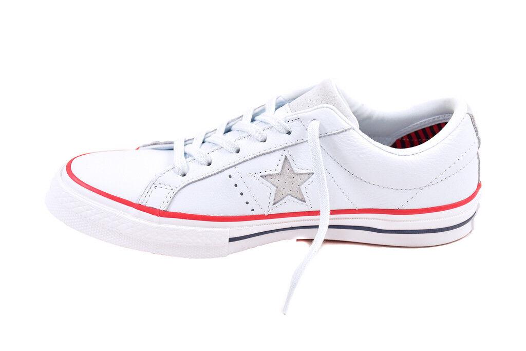 Converse Unisex Chucks One Star OX 160626 Shoes Blue Size BCF87 UK 8   BCF87 Size c70118