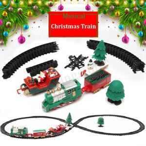 22x-Christmas-Musical-Light-Train-Trees-Box-Set-Xmas-Ornament-Decor-Kid-Gift-Toy