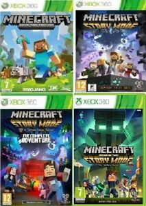 XBOX-360-Minecraft-Story-Mode-Xbox-360-Assorted-Games-MINT-FAST-DELIVERY