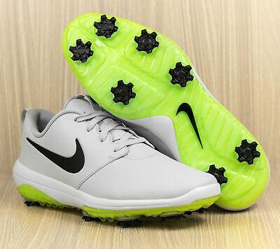Nike Roshe G Tour Golf Shoes Mens Size 7 Pure Platinum White Volt Ar5580 002 Ebay