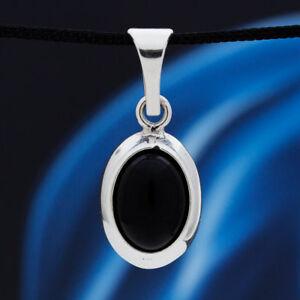 Onyx-Silber-925-Anhaenger-Sterlingsilber-Damen-Schmuck-A250