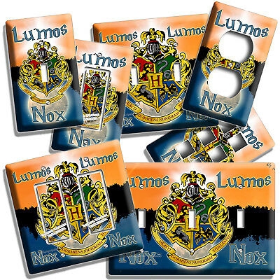 Harry Potter Lumos Nox Wizardry Light Switch Covers Home Decor Outlet