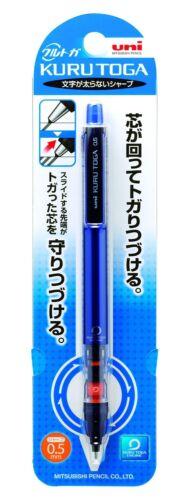 uni Kurutoga Pipe slide model Mechanical Pencil 0.5 mm Blue