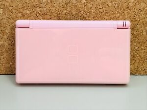 Nintendo DS Lite Console Coral Pink English Good Condition Japan /Tested Working