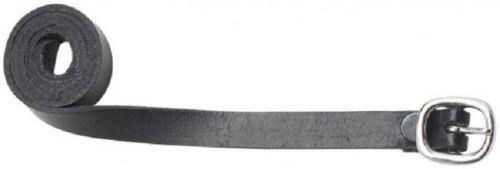 Sporenriemen Ledersporenriemen Sporenriemen LEDER 49 cm braun /& schwarz Reiten