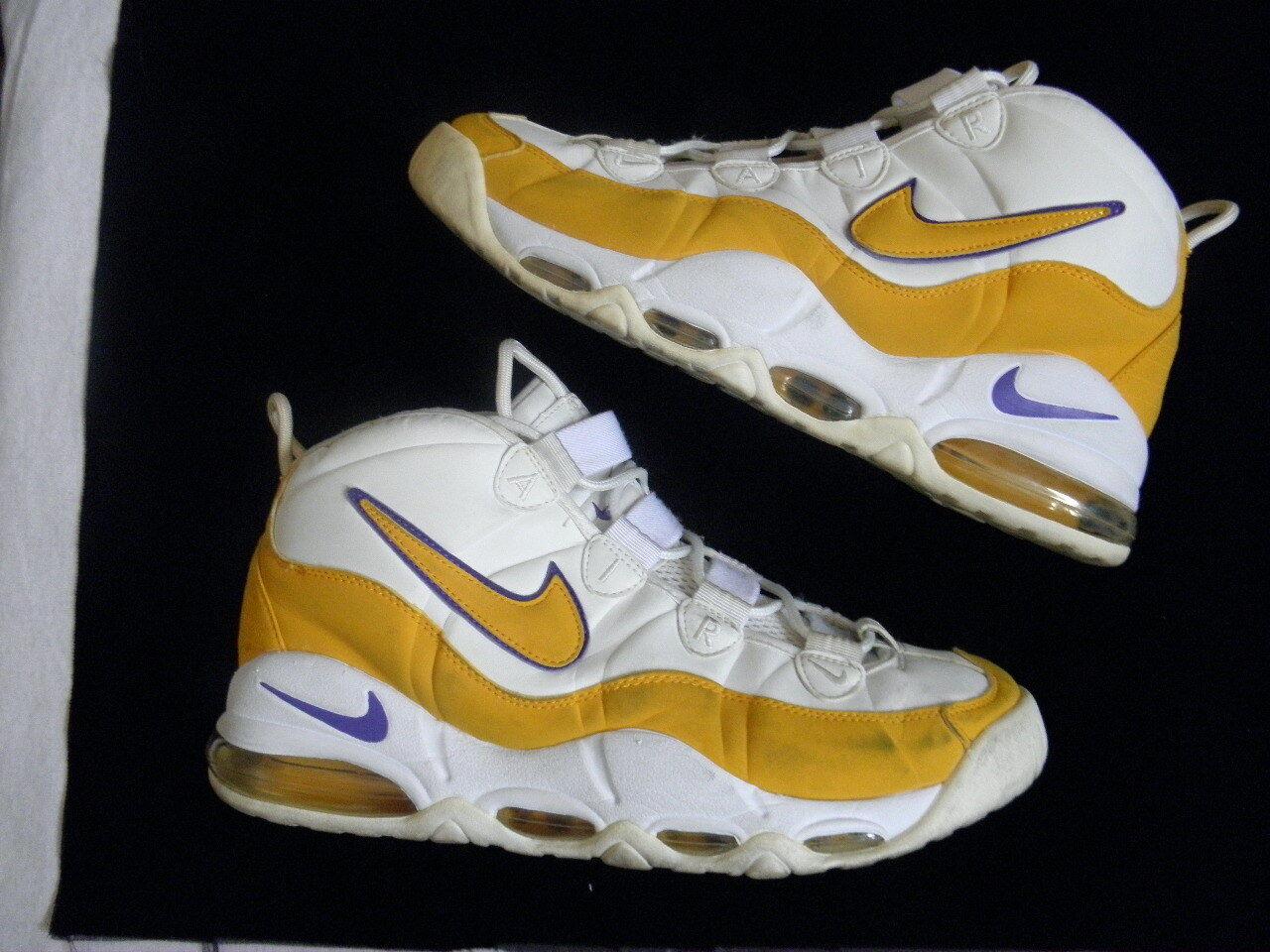 Nike Air Max Uptempo Tempo '95 Derek Fisher sz Home PE OG Original sz Fisher 11.5 Pippen 86af17