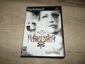 Haunting-Ground-Sony-PlayStation-2-2005-PS2-Authentic-artwork-ONLY-NO-GAME