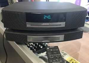 Bose Wave Music System Graphite Awrcc1 W Defective 3 Cd Changer Not Working Ebay
