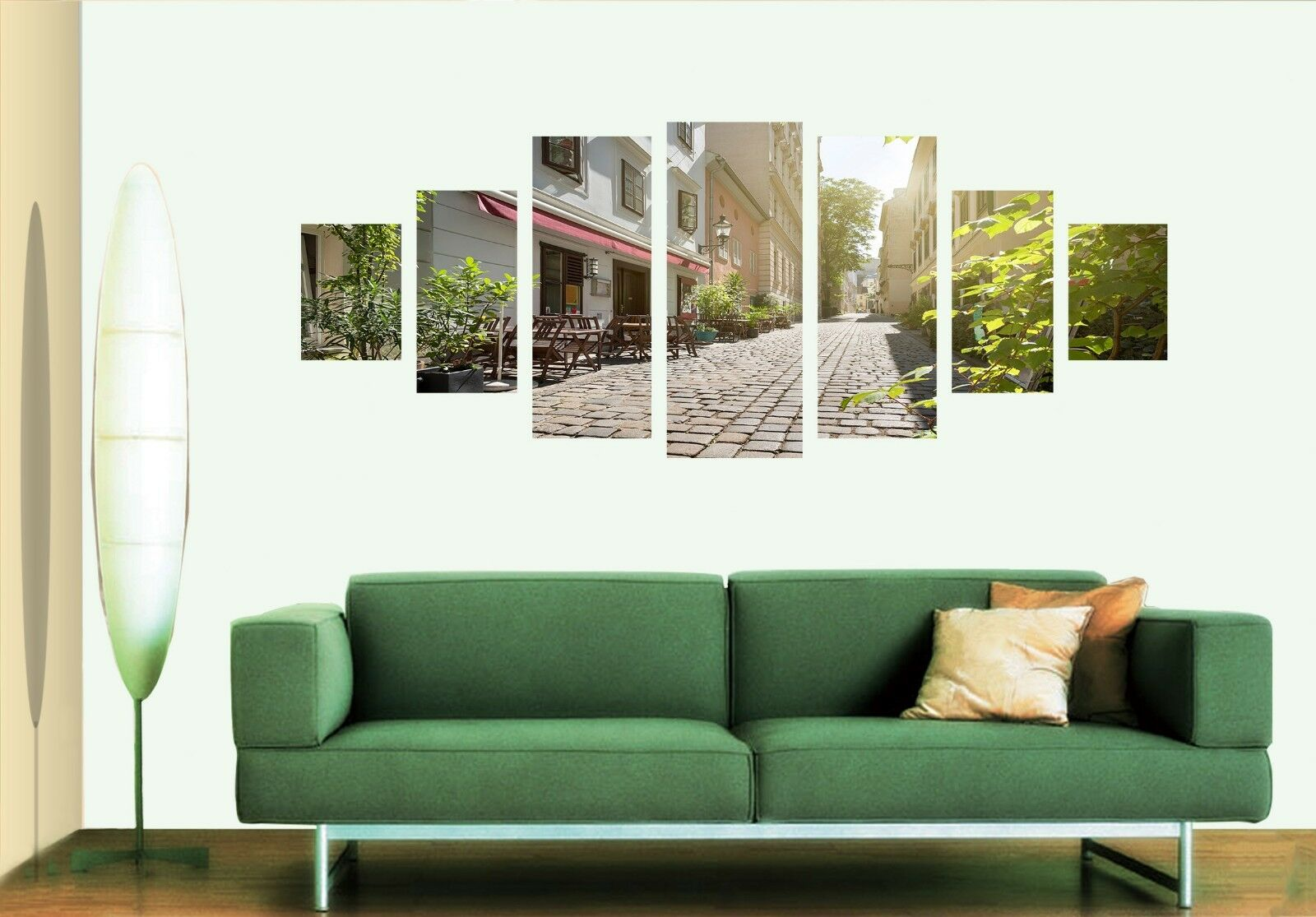 3D Street Alley 564 Unframed Print Wall Paper Decal Wall Deco Indoor AJ Wall