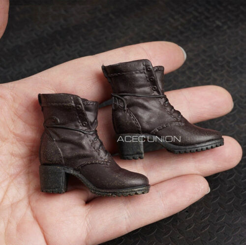 1//6 Women Ankle Boots For Avengers Scarlet Witch Hot Toys PHICEN Female Figure