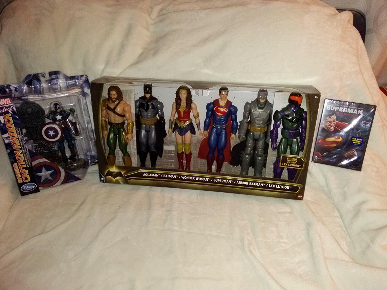 Batuomo Vs Superuomo 6 cifras & Movie &  Captain America specialeee edizione cifra  molte sorprese