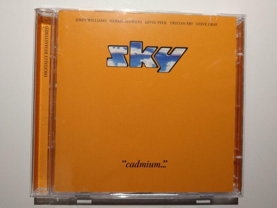 "Sky: ""Cadminum, rock"