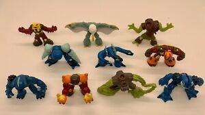 "Lot of 10 Gormiti Giochi Preziosi 2"" Action Figures Monsters"