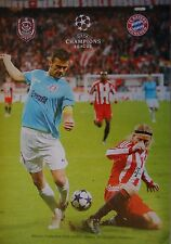 Programm UEFA CL 2010/11 CFR Cluj - Bayern München
