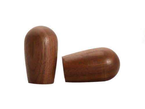 Knobs for Espresso Machines Nut Wood M8 Inner Thread 1 Pair
