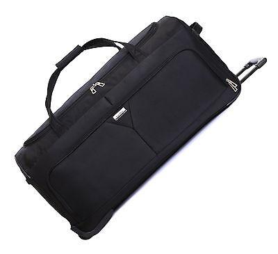 XXL Extra Large 40 Inch Wheeled Travel Trolley Luggage Suitcase Holdall Case Bag
