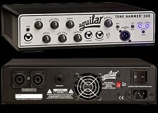 Aguilar Tone Hammer 500 watt Bass Guitar Amplifier Head NEW with FREE SHIPPING!