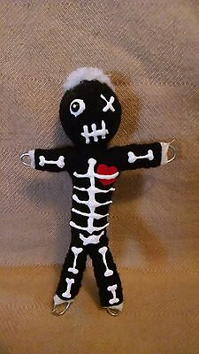 Authentic Voodoo Doll Day of the Ded 7 pins real guide new orleans Halloween