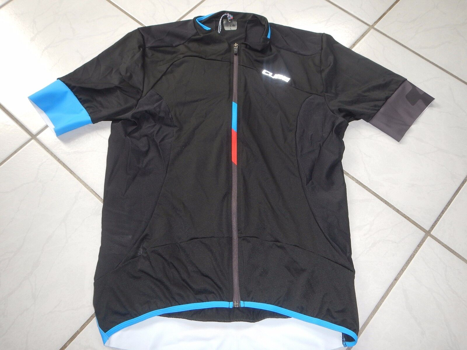 Original cubo negro Zero negroline rueda camiseta Jersey tamaño L top nuevo embalaje original