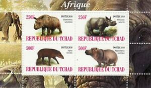African-Faune-feuille-de-4-3B-094
