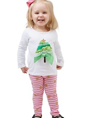 Mud Pie Farmhouse Hen and Chick Tunic and Leggings Set