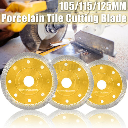 105//115//125mm Diamond Ceramic Saw Blade Porcelain Tile Saw Marble Dry Cutting