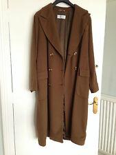 MaxMara Womens Coat  pure Cashmere Camel Brown Max Mara UK 14 US 12
