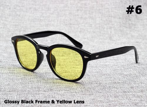 Johnny Depp Lemtosh Fashion Style Vintage Round Tint Ocean Lens Sun Glasses F//S