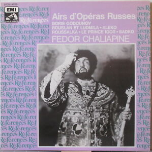 FEDOR-CHALIAPINE-Airs-d-Operas-Russes-LP-Historic-Recordings-on-EMI-References