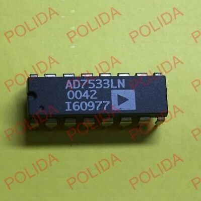 5PCS multiplication DAC IC Analog Devices DIP-16 AD7533JNZ AD7533JN AD7533J