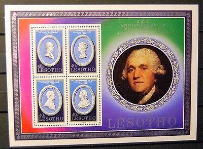 Briefmarken Lesotho Postfrisch, Block ....................................(2338) Schnelle Farbe