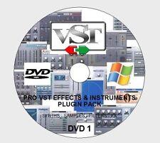 2500+ PRO VST / VSTI FX & INSTRUMENTS PLUGIN PACK FOR WIN CUBASE ABLETON FL ETC