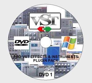 Details about 2500+ PRO VST / VSTI FX & INSTRUMENTS PLUGIN PACK FOR WIN  CUBASE ABLETON FL ETC
