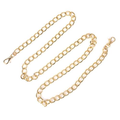 Metal Purse Chain Strap Handle Shoulder Crossbody Bag Handbag Replacement 1.2MBW