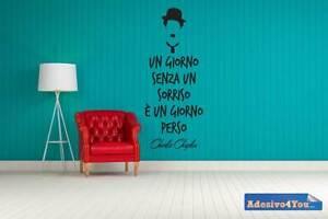 Adesivo-Murale-Charlie-Chaplin-034-un-giorno-senza-sorriso-e-un-giorno-Adesivo4You
