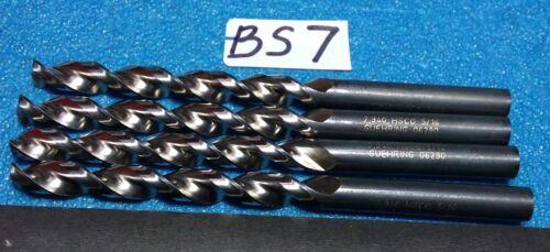 GUHRING  7.940  HSCO   5//16   DRILLS   4 PCS