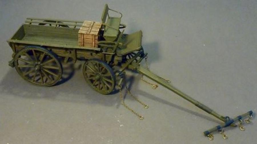John Jenkins WW1 de la Gran Guerra GWB-16 vagón de servicio general británico MKX MB