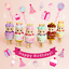 Sonny Angel Birthday Gift Series x 1 Blind Box Happy Birthday Mini Figure Doll