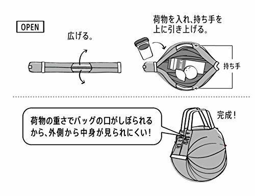 Myrna eco bag Shupatto compact bag M flowers S411KU JAPAN